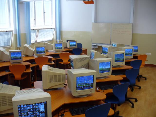 počítačové učebny